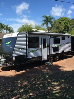 2017 Luxury 22 foot caravan for HIRE (we tow and set it up) Sleeps 4
