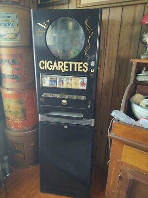 vintage cigarette vending machine