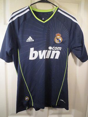 30360ed411f08 Adidas Real Madrid  7 Cristiano Ronaldo 2010 Away Jersey Shirt Kit US Size  Small