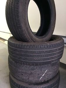 Used tires for sale. Installation and balance if necessary