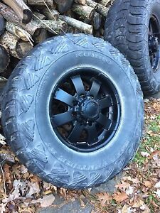 8 Bolt GM rims and tires