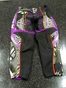 Size 22 Kids Motocross Pants Purple/Green Thornlands Redland Area Preview
