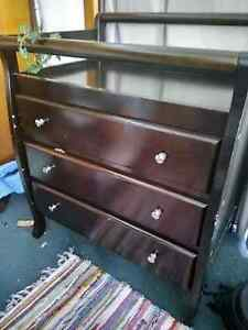 Drawers Change Table Tall Boy Mullumbimby Byron Area Preview