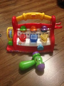 Fisher Price Pop Up ABC Toolbox