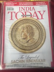 India Sachin tendulkar special iasue