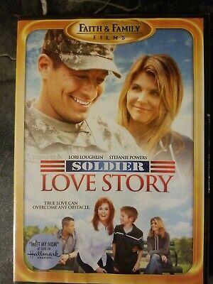 Soldier Love Story (DVD, 2009) LORI LOUGHLIN, STEFANIE POWERS - New & Sealed