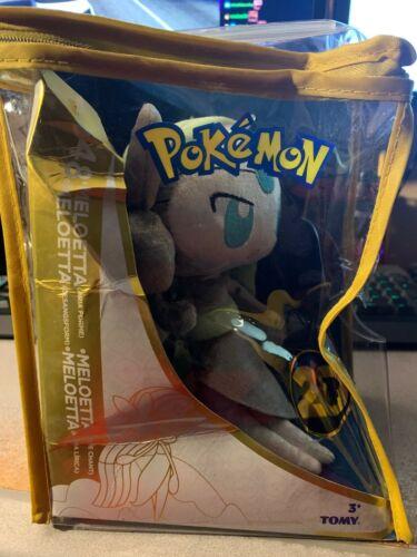 Tomy Pokemon Meloetta #648 20th Anniversary Plush New