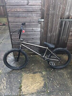 Wethepeople Limited Edition Smoked Chrome Aracde Bmx 20 Inch