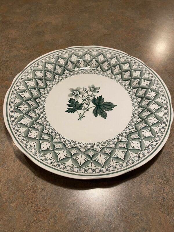 Spode Green Geranium Plate