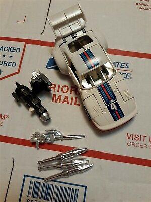 G1 Transformers Jazz 100% white unbroken vintage Hasbro Takara