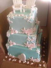 Wedding cakes and any celebration cake for order Gunnedah Area Preview