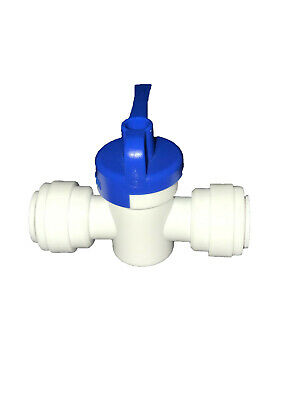 38 John Guest-style Push Fit Quick Connect Straight Ball Valve Ro