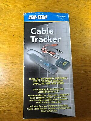 Cen-tech Electrical Wire Finder Line Tracer Cable Tracker Model 94181