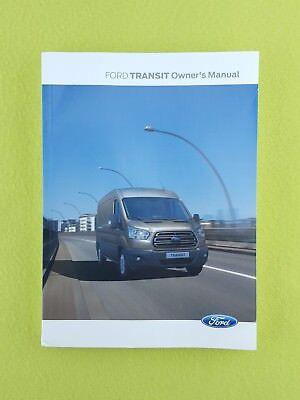 FORD TRANSIT (2013 - 2018) Owners Manual / Handbook