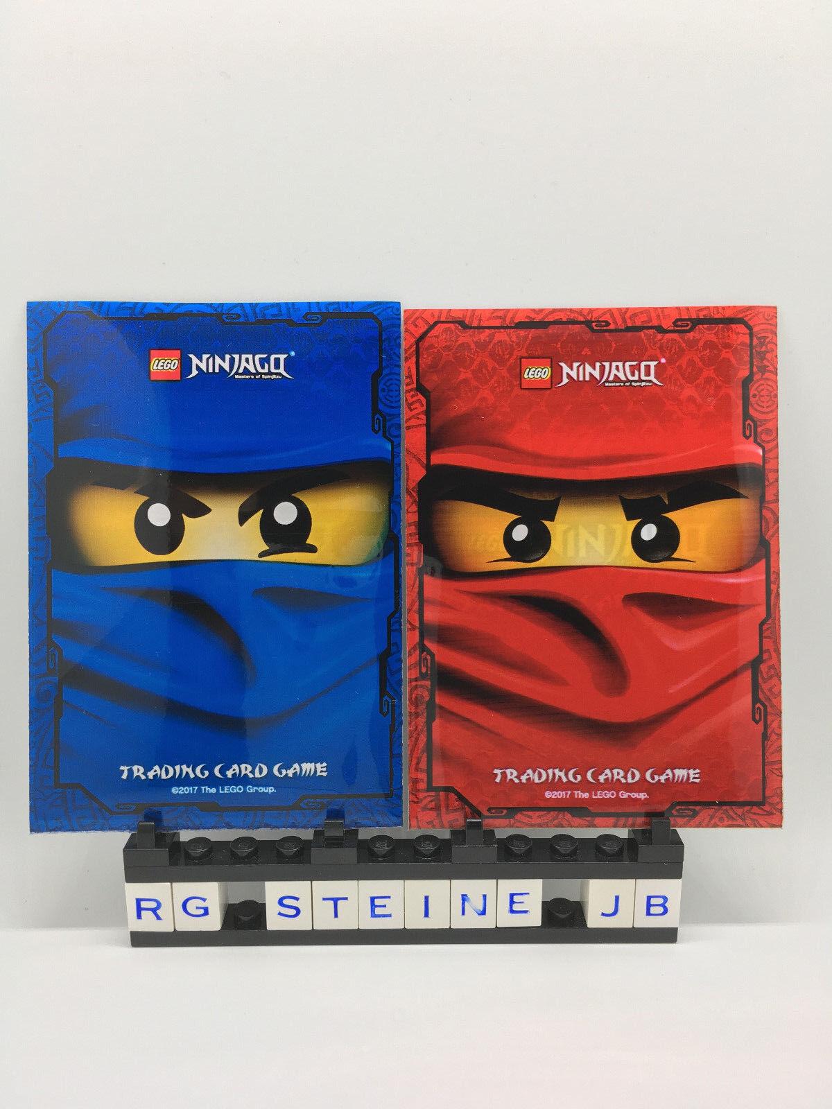 Lego Ninjago Serie 4 und 3 Trading Card Cards Game limitiert Goldkarten LE1-LE25