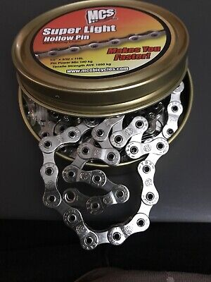 Black New Lightweight 10 Speed YBN  Bike Chain with Hollow Pin and Link 253g