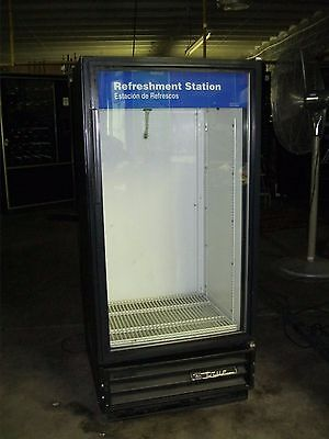 True Gdm-10 Commercial Glass Door Beersoda Cooler Merchandiser