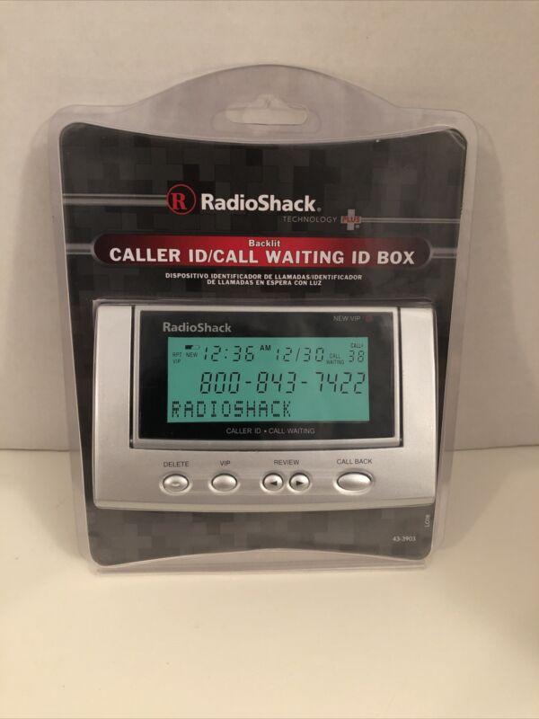 Radio Shack 43-3903 Advanced Caller ID/Call Waiting Backlit Tilting Display NEW