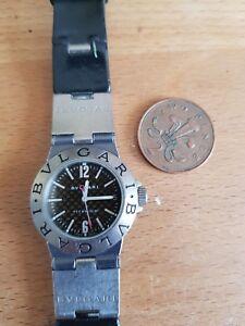Bvlgari Diagono Titanium Men's Date Watch BVLGARI DIAGONO WATCH