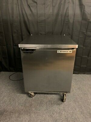 Beverage Air Mt27a 27 Undercounter Refrigerator Cooler Used Worktop