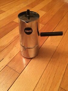 NEW  vemi stainless steel coffee maker 6 cups