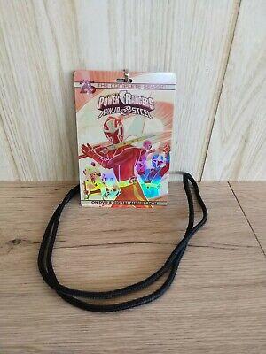 SDCC Power Rangers Ninja Steel Movie Digital Download Lanyard