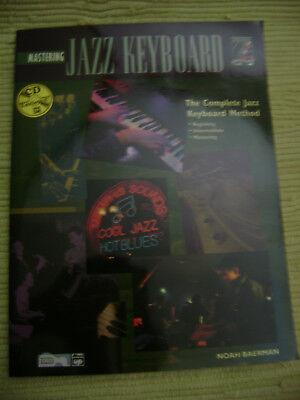 Mastering Jazz Keyboard by Noah Bateman (Music book w/CD, -