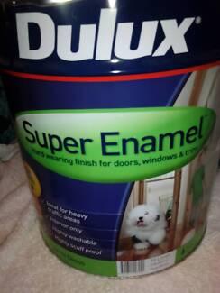Dulux Super Enamel 10L Semi Gloss Vivid White Enamel Paint Parramatta Parramatta Area Preview