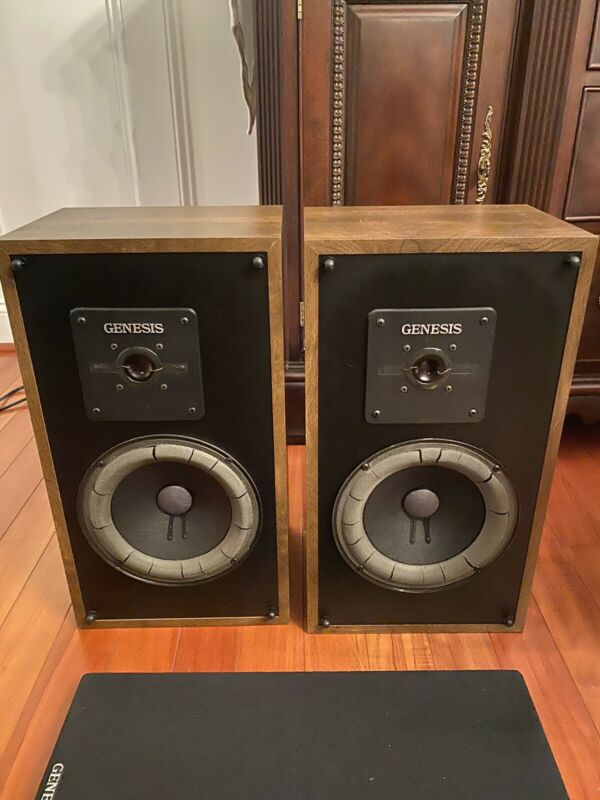 Genesis Physics Loudspeaker Set Vintage New