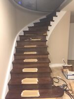 Stairs Recapping Spindles Handrail Refinish