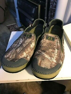 Under Armour Spike Camp Camo Shoes Canvas Slip On  $55 Size 11