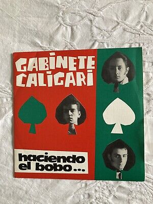 Gabinete Caligari ‎– Haciendo El Bobo single 7