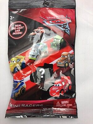 2017 DISNEY PIXAR CARS 3 LIGHTNING McQUEEN MINI RACERS NEW RELEASE READY TO SHIP