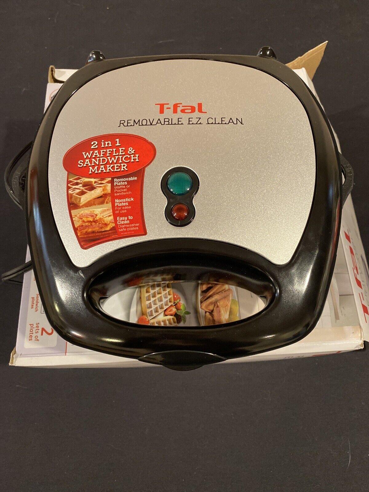 T-Fal SW610062 EZ Clean Sandwich Maker, 1 ea