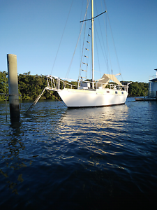 Cruising Yacht 33' steel double ender Deepwater Glen Innes Area Preview