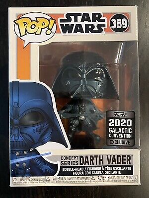 NEW! Funko Pop Concept Series Darth Vader Star Wars 389 Galactic Convention 2020