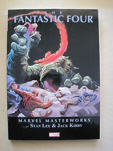 FANTASTIC FOUR MARVEL MASTERWORKS Vol 1 NEW TRADE Paperback by JACK KIRBY & LEE