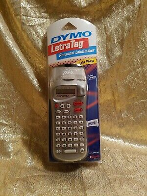Dymo Letratag Personal Label Maker 11944 Silver Brand New