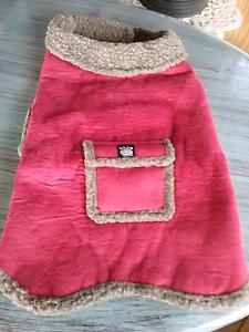 2 x new pink sheepskin jackets size dogs  size M $10 ea Cessnock Cessnock Area Preview