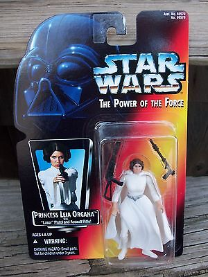 Kenner Star Wars Power of the Force Action Figure Princess Leia Carrie Fisher