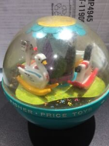 Vintage Fisher Price 1966 Rolly Polly Musical Chime Ball