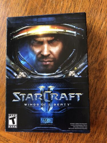 Starcraft 2 Wings Of Liberty PC Game Comes with inserts