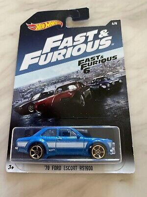 hot wheels fast and furious Ford Escort Rs1600