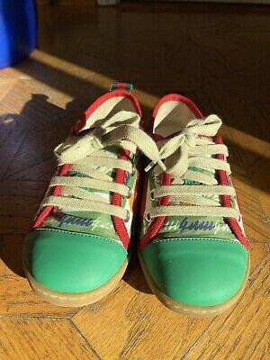 Gucci Kids Shoes Unisex Size 29