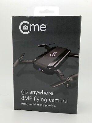 C-me - Selfie Drone - 8MP Go Anywhere Flying Camera Black Brand NEW & Sealed