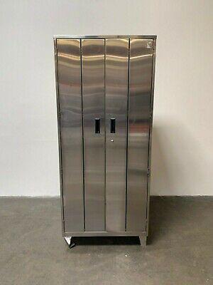 Stainless Steel Lab Storage Cabinet 24 X 36 X 84