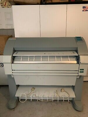 Oce Tds 450 Print Copy And Scan Wide Format Printer Scanner Plotter Blue Print