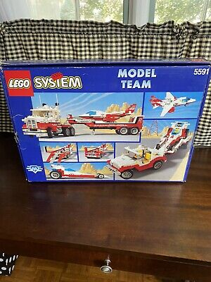 NEW LEGO SYSTEM 5591 Model Team Mach II Red Bird Rig Vintage BOX RARE In Box!!