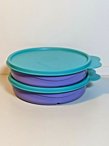 Tupperware Divided Bowls  #2552A-1  (Set Of Two)