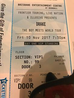 Two red deer vip tickets concerts gumtree australia pine rivers vip 1 drake ticket m4hsunfo